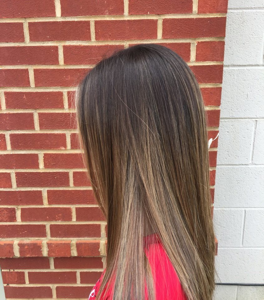 Transitional Trend Root Smudge Home Changes Hair Studio