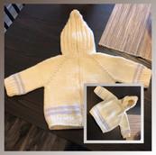 BackZip Baby Sweater