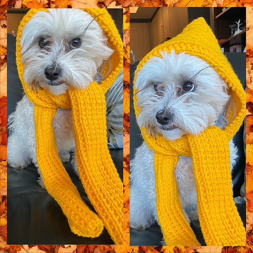 Child's All-in-One Hat and Scarf