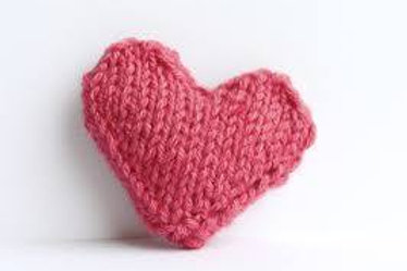 Mini Knitted Heart Pattern