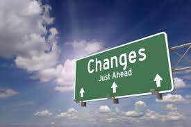 Change is in the air!