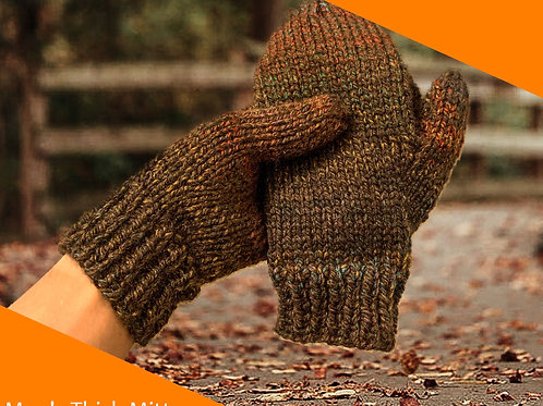Men's Thick Mittens