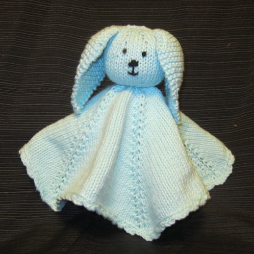 Bunny Security Blanket Pattern