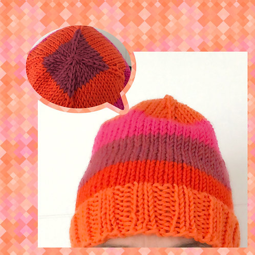 Fun With Colour Hat