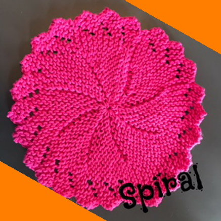 Dishcloth - Spiral