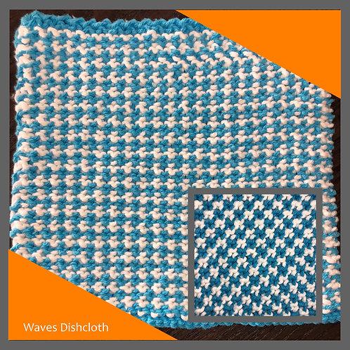 Dishcloth - Waves