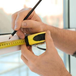 Измерение размеров стекло-пакета