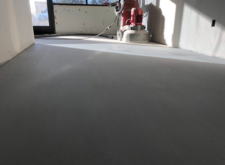 Case Study - Polished Concrete Topping