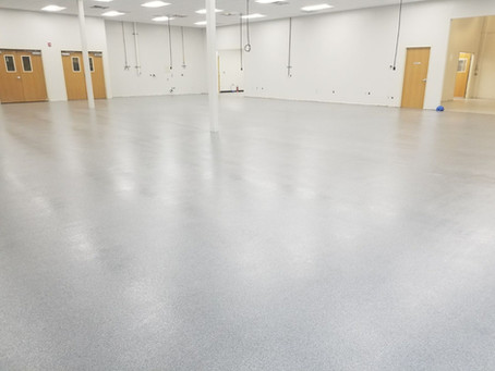 Case Study - Hybrid Clean/Shop Epoxy Quartz