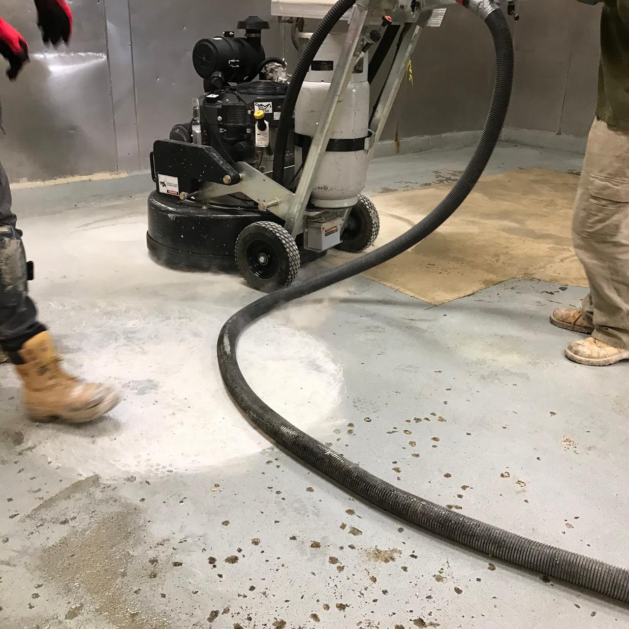 Urethane Cement Installation