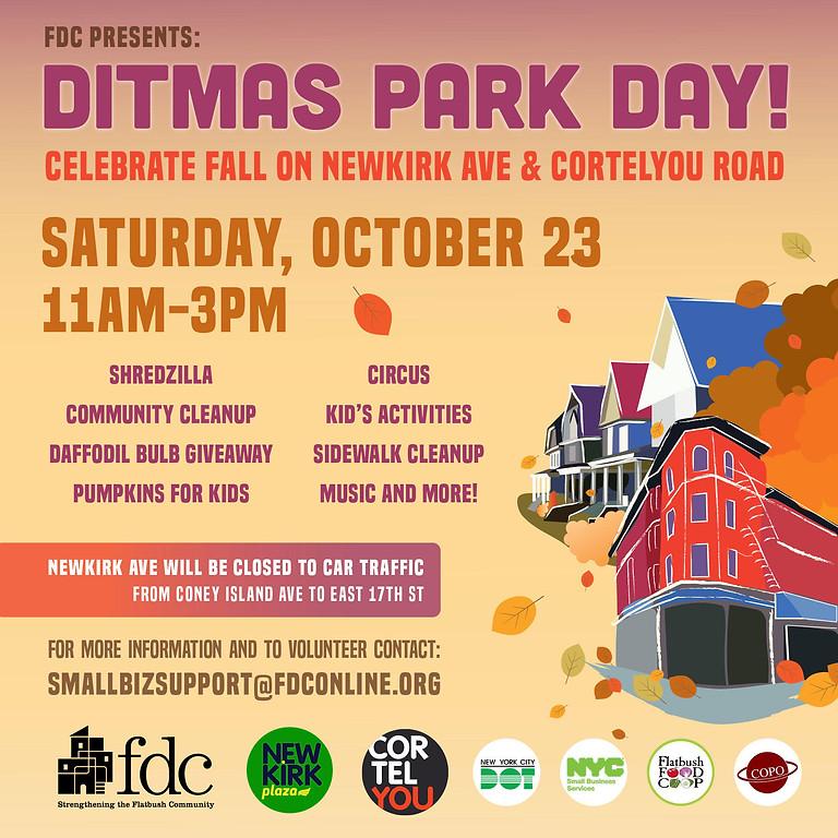 Ditmas Park Day - Fall Festival