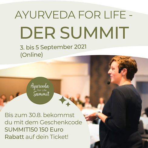 Dr. Janna Scharfenberg Ayurveda for Life Summit