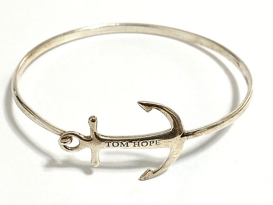 BELLISIMA PULSERA TOM HOPE, ESCLAVA PLATA 925.