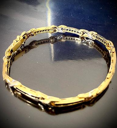 Fantastica pulsera de dama modelo Cartier
