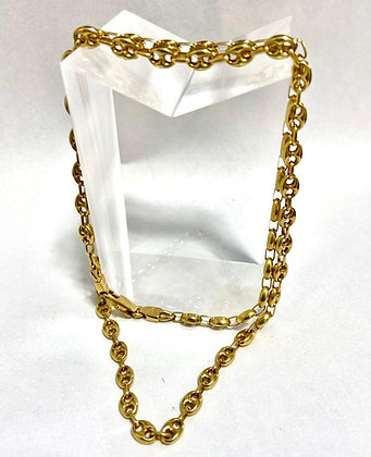 Cadena/Gargantilla Oro 18kt. modelo Gucci.