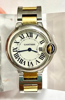 Reloj Cartier Ballón Bleu Combinado.Dama.