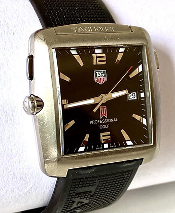 RELOJ HOMBRE TAG HEUER PROFESIONAL GOLF WATCH TIGER WOODS