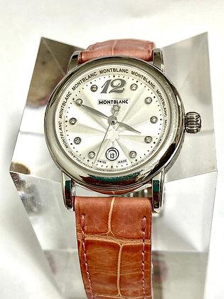 Reloj Dama Mont Blanc Meisterstuck con Brillantes.