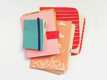 All about notebooks, sketchbooks and other books