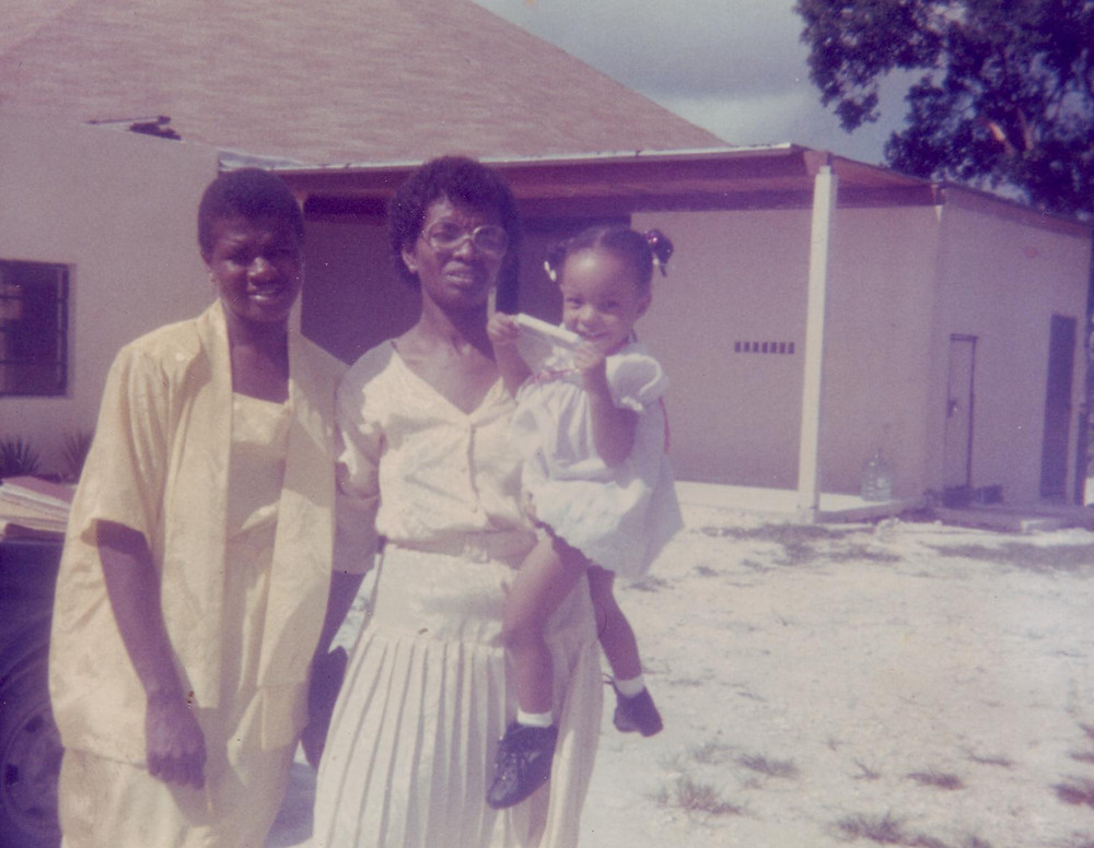 (Pictured: Vernessa Rolle, Grammy, and Baby Danae)
