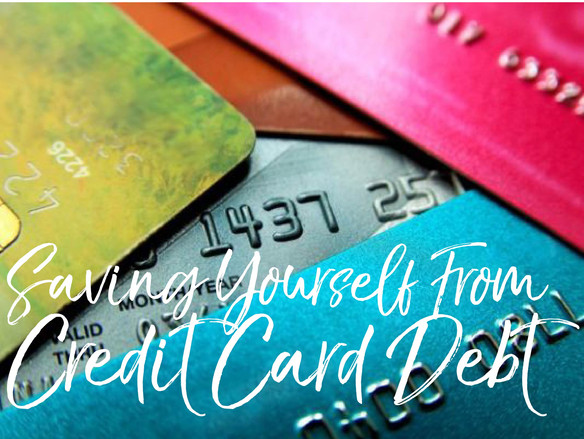 Saving Yourself From Credit Card Debt