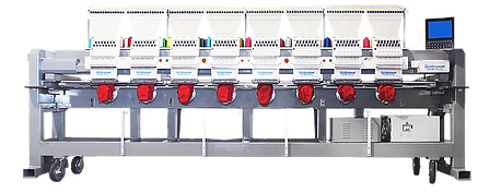 Meistergram Gem1508, eight head embroidery machine, 8 head embroidery machine, commercial embroidery machine