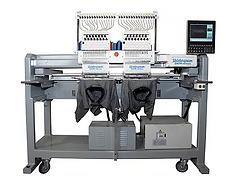 Gem1502, Meistergram, two head embroidery machine, 2 head embroidery machine, commercial emnbroidery machine