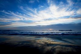 Sunse beach view Oregon