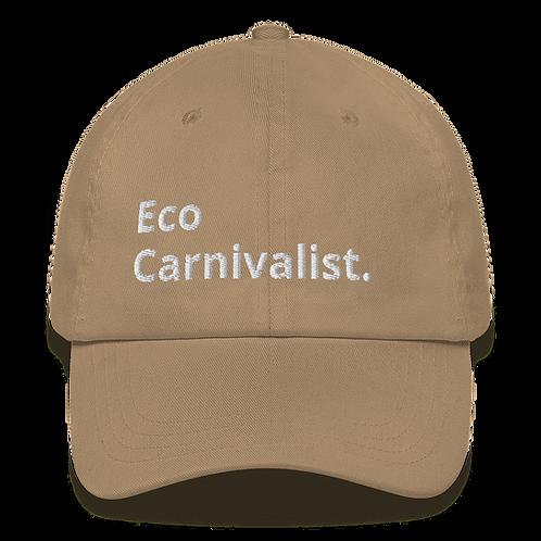Eco- Carnivalist Dad Hat