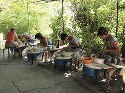 stage de poterie Mas Cassac