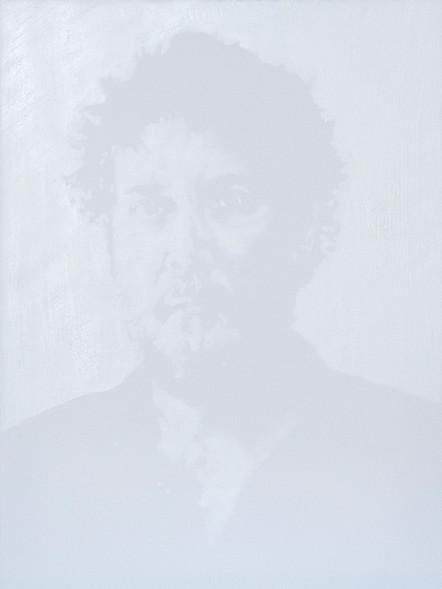 Patrice Palacio - Autoportrait- Serie Blanc
