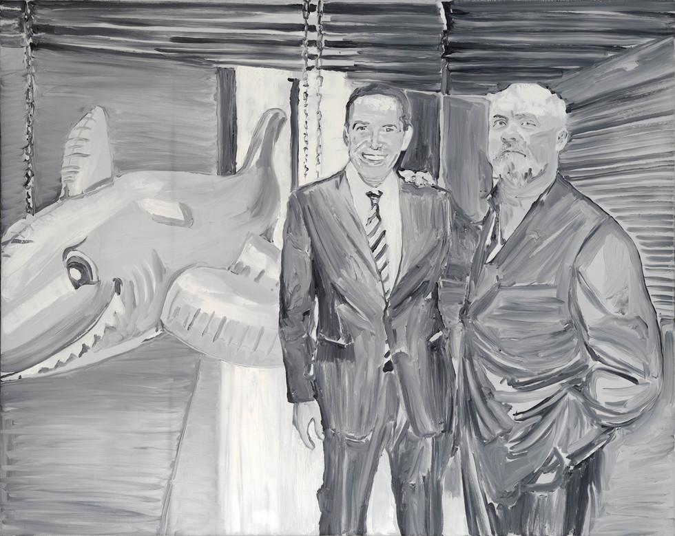 Patrice Palacio - Jeff Koons et Damien Hirst se partageant le marché de l'Art