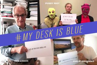 Ken Loach ed altri artisti lanciano la campagna per salvare Blue Desk.