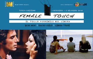 Cinema | 'Female Touch' | 17 e 18 Novembre