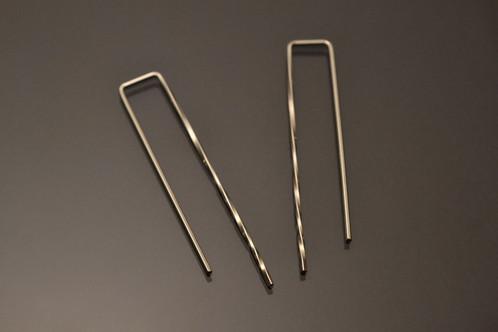 Regal Rectangle Earrings *Twist_1