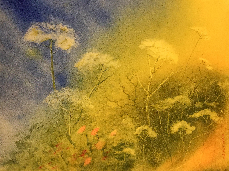 Aquarelle de printemps