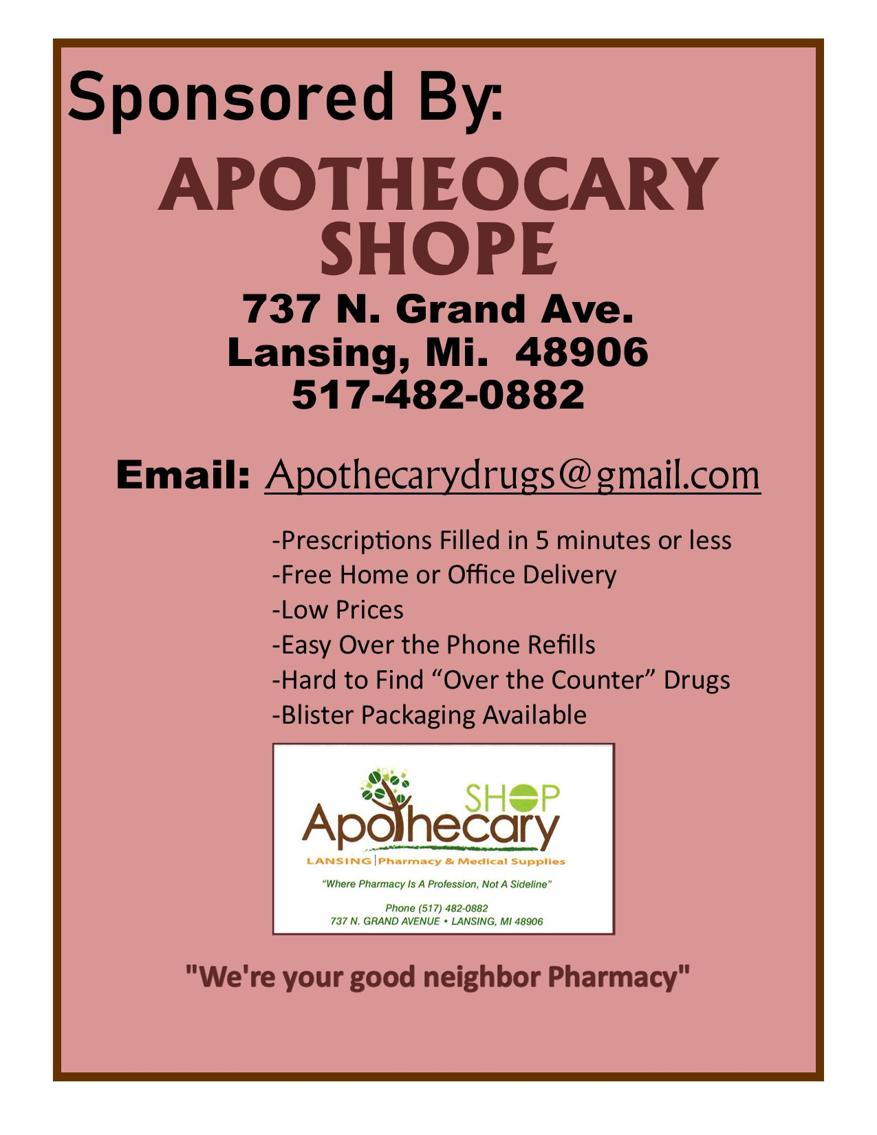 apothocary Shoppe
