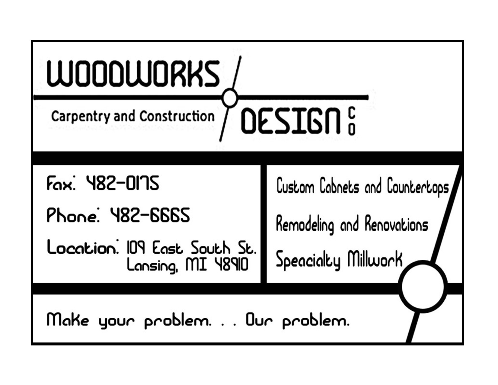 Woodwork & Design Ad