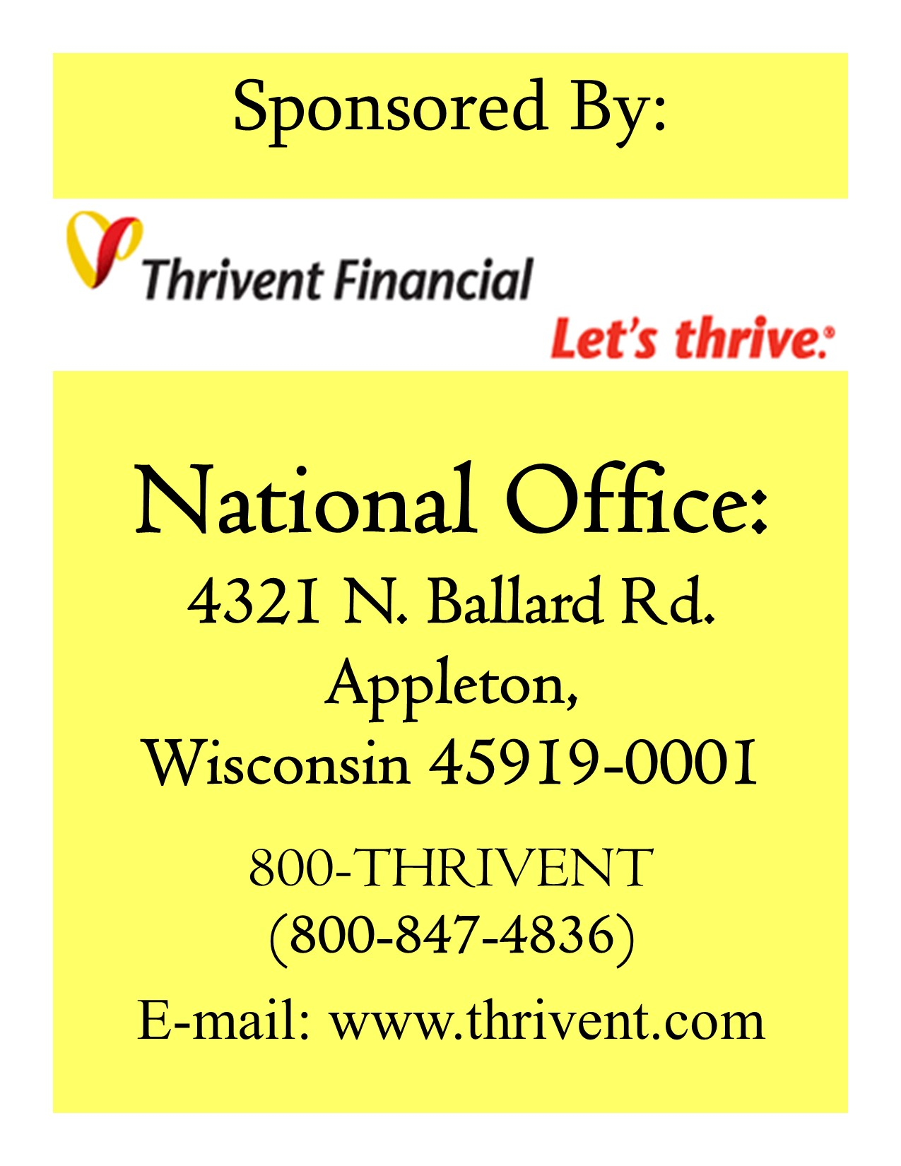 Thrivent national09