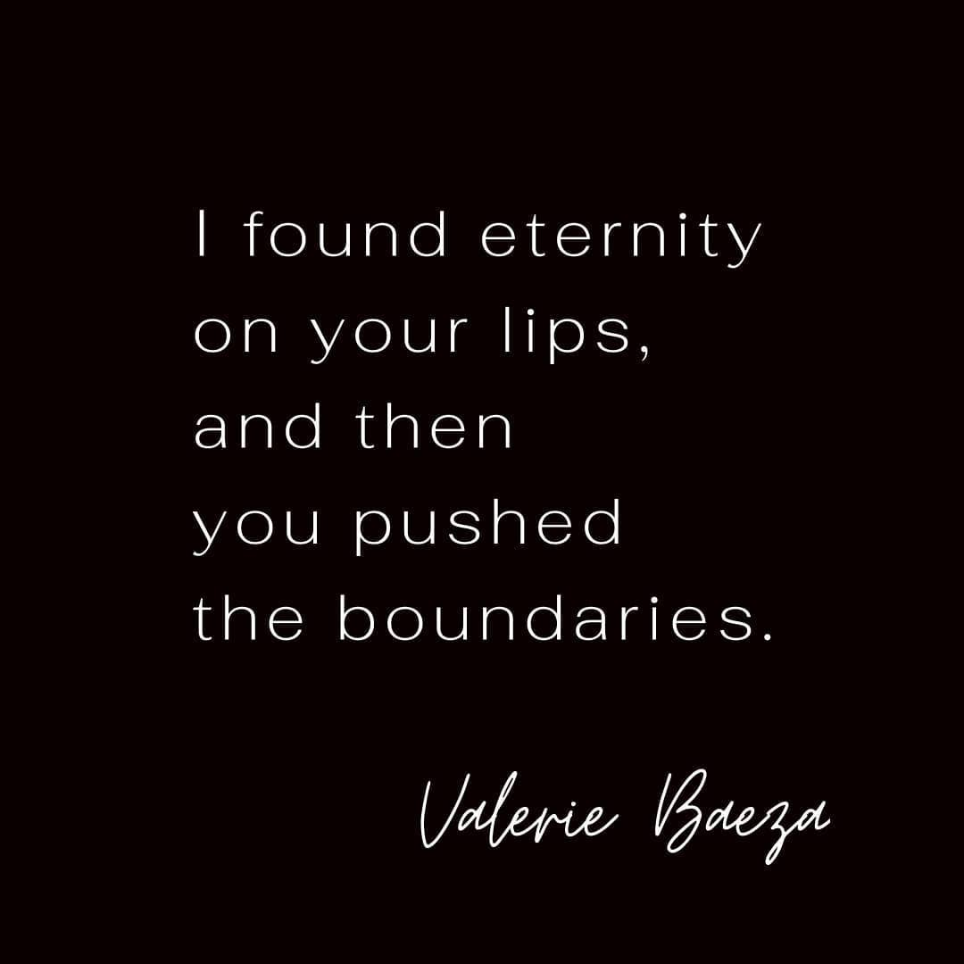 Eternity on Your Lips by Valerie Baeza.j