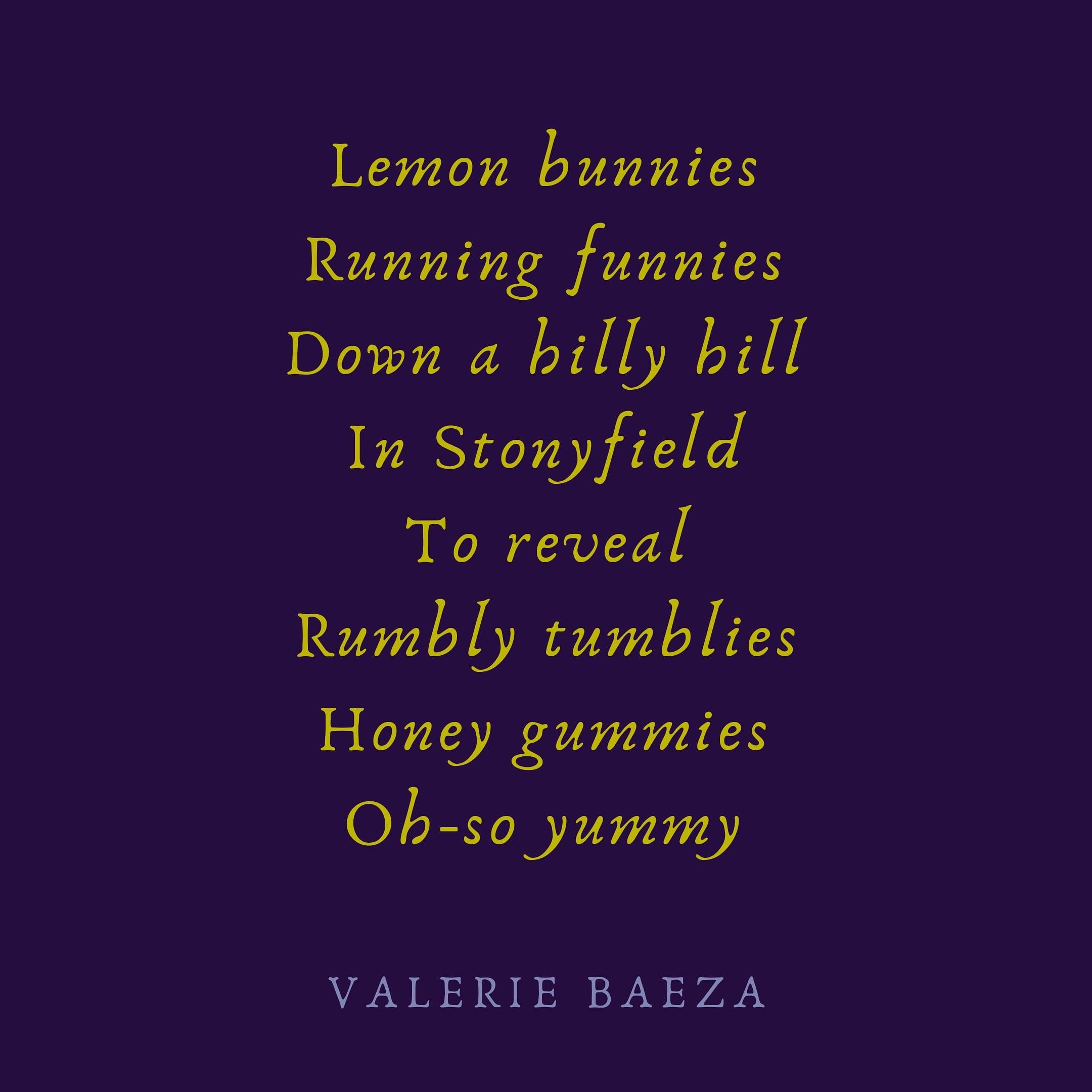Lemon Bunnies by Valerie Baeza