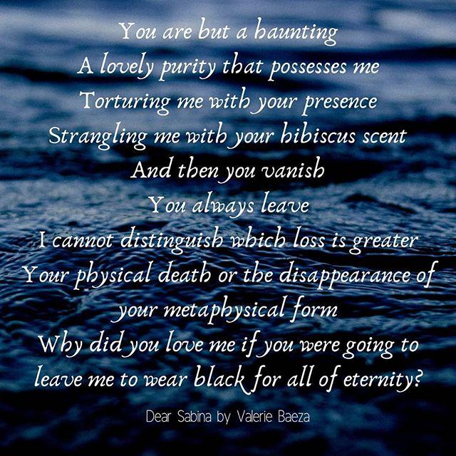 Dear Sabina