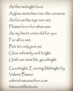 Goodnight, Evening Midnight