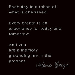 Memory Grounding Me in the Present by Va