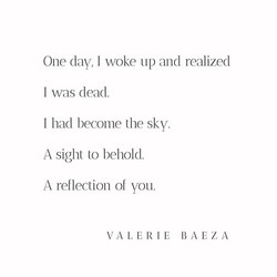 A Reflection of You by Valerie Baeza