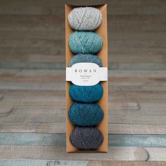 Rowan Felted Tweed Fade Pack - Blue
