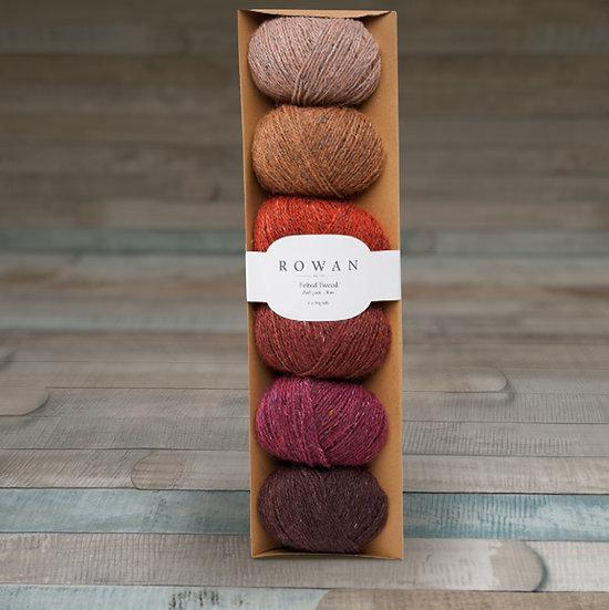Rowan Felted Tweed Fade Pack - Rust