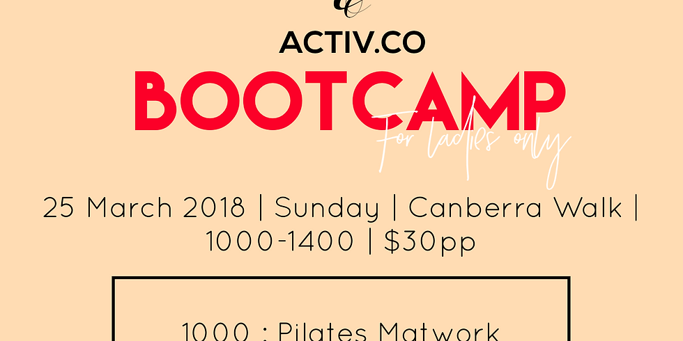 Activ.Co March Bootcamp
