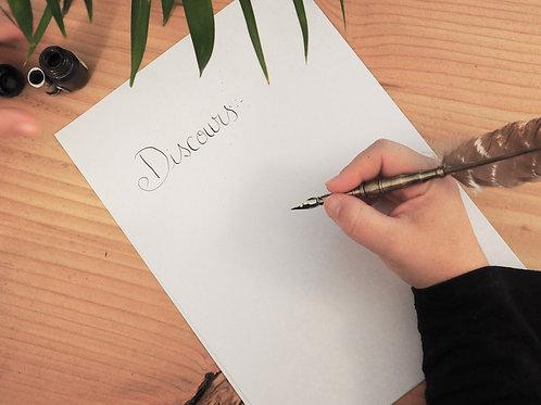 J'écris votre discours