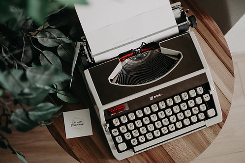 J'écris votre lettre sentimentale